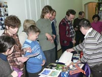 Christmas fair for the benefit of the Institute for Bible Translation